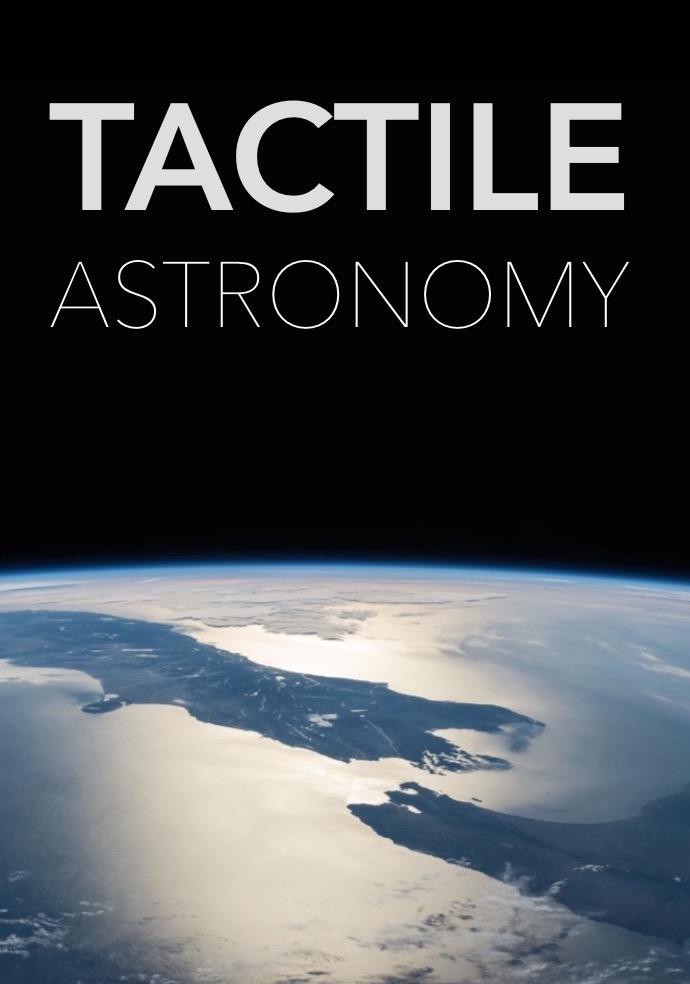 Tactile Astronomy Portrait